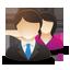 business male female users64 Logiciel de gestion locative pour professionnels