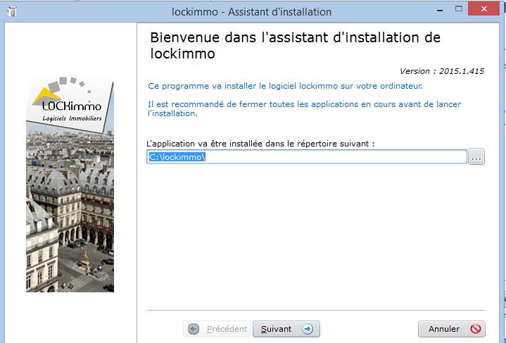 installation2 Mettre à jour mon logiciel de gestion locative