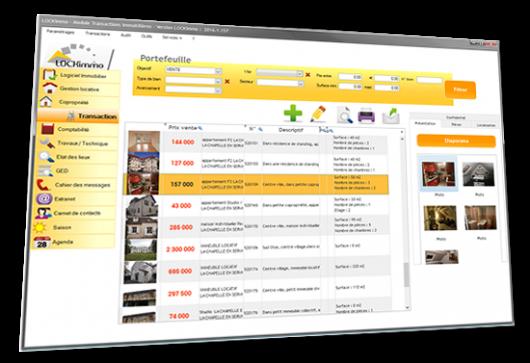 Logiciel immobilier - module transactions immobilières