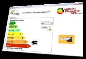 logiciel étiquette DPE