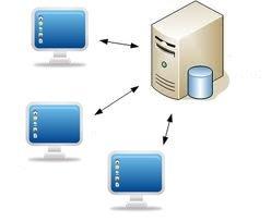 logiciel immobilier client / serveur