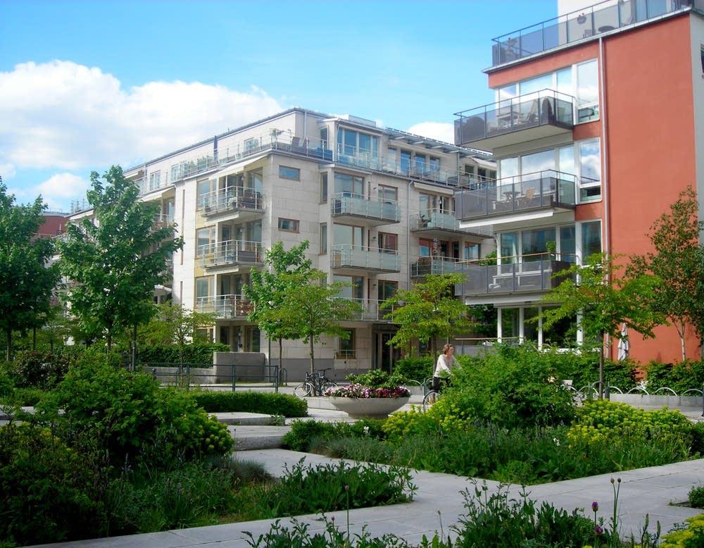 Un écoquartier en Suède