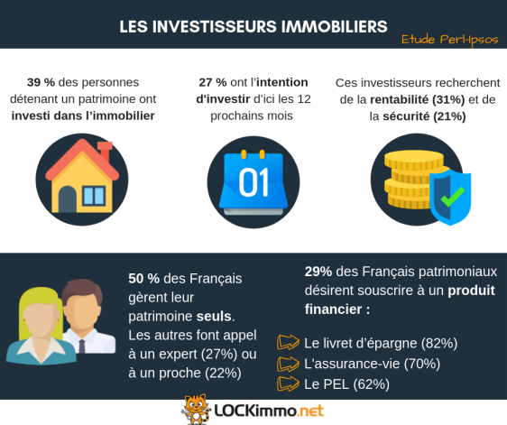 infographie investisseur immobilier