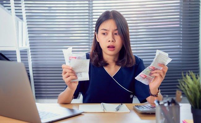dépense et régularisation de charges