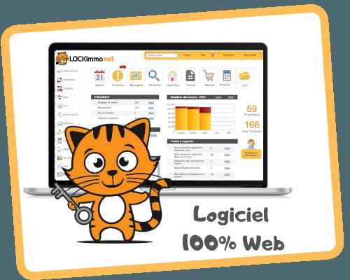 Logiciel immobilier lockimmo - 1 logiciel - 8 modules